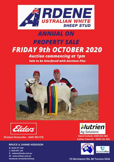 Ardene On Property Sale - Friday 9th October 2020